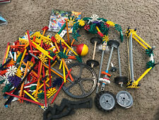 Lot of Loose, Assorted K'Nex Building Pieces and Toy Parts