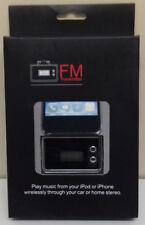 CAR CIGARETTE SOCKET WIRELESS FM RADIO TRANSMITTER FOR IPHONE 3 & 4 IPOD