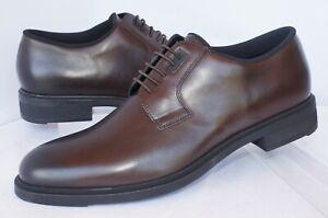 New Hugo Boss Men's Shoes Firstclass Derb Size 8.5 Brown Oxfords