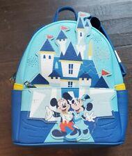 Loungefly 65Th Disneyland Castle Anniversary Mini Backpack Nwt