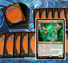 mtg RED GREEN LANDFALL DECK Magic the Gathering rare cards BFZ omnath