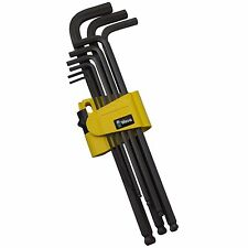 Wera IMPERIAL HEX KEY SET WERA133180 9Pieces Ball-End On Long Arm *German Brand
