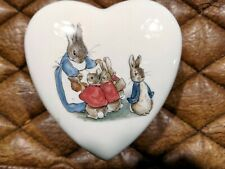 Peter Rabbit Heart Box Wedgwood Original Box