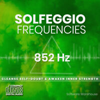 Solfeggio Healing Frequencies - 852 Hz Meditation CD - Mind and Body in Harmony