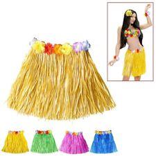 gelber kurzer Hawaii Bastrock Karneval Hula Rock Hawaiirock Kostüm Party 3368