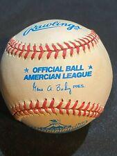 Rawlings Official 1997 OAL League Championship Series Error 'Amercian' Baseball