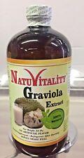 Nuevo Natuvitality Graviola Extract Liquido Guanabana extracto 32oz 100%Natural