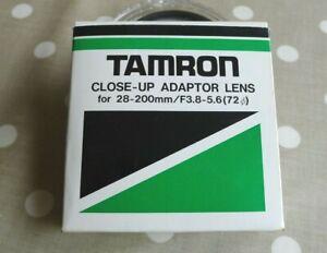 TAMRON CLOSE-UP ADAPTOR LENS