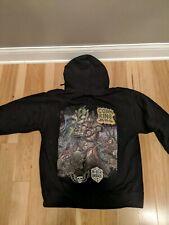 Three Floyds Corn King Hoodie Sweatshirt Craft Beer Brewery Size L