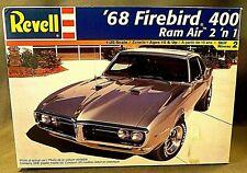Revell '68 Firebird 400 Ram Air Muscle Car, Tons Of Parts !