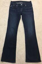 Rock & Republic Kasandra Jeans 31 Boot Cut Size 27 Distressed Stretch Womens