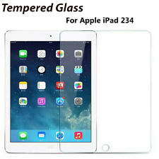 Tempered Glass Film Screen Protector Saver Cover Protection For iPad 234 4th Gen