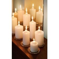 White Pillar Wax Candles Church Candle Assorted Sizes Wedding Home Decoration