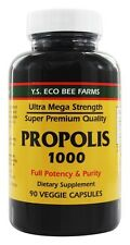 YS Organic Bee Farms Propolis Caps 1000 mg 90 Capsules