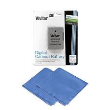 Vivitar EN-EL14a Battery for Nikon Coolpix P7700 P7800P7000 P7100 + Cloth