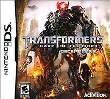 Transformers: Dark of the Moon -- Decepticons (Nintendo DS, 2011) COMPLETE