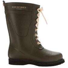 Ilse Jacobsen RUB15 Army Green Womens Boots