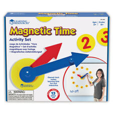 Learning Resources Magnetic Time Activity Set 2984