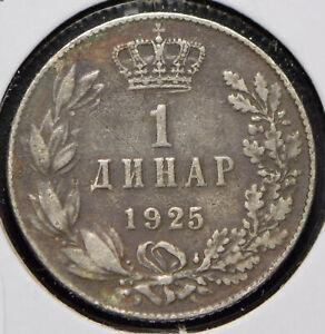 Yugoslavia 1925 Dinar 191516 combine