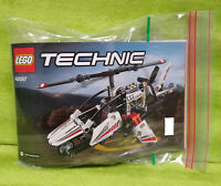 Genuine Lego Technic 42057 Ultralight Helicopter Set Complete w/ Instructions