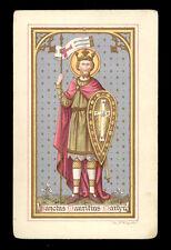 antico santino cromo-holy card S.MAURIZIO M.