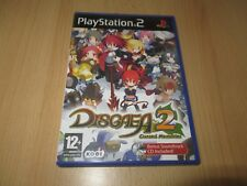 PS2 Disgaea 2 Cursed Memories, UK Pal ,MINT COLLECTORS