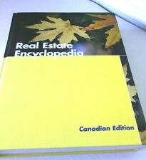 Real Estate Encyclopedia Book Hardcover Canadian Edition House Sales Canada Info