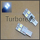 CANBUS LED SIDELIGHT BULBS 501 VAUXHALL VECTRA C CORSA