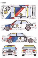 #5 WARSTEINER BMW 1991 1/32nd Scale Slot Car Watreslide Decals