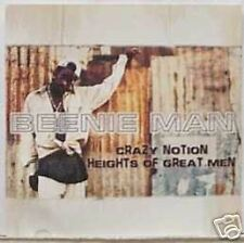 Beenie Man Crazy Notion w/ HEADACHE MIX PROMO CD Single