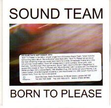 (H530) Sound Team, Born to Please - DJ CD