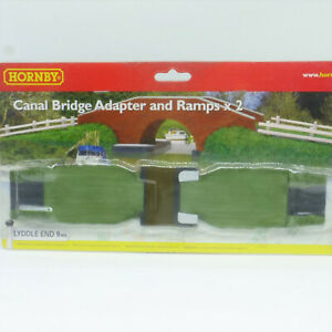 Hornby Lyddle End N Gauge Canal Bridge Adapter and Ramps (N8574) - New