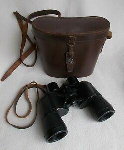 Ross of London Rare 1950's Vintage 8 x 40 Spectaross 10013 Binoculars with Case