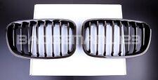 Nouvelle apparence Carbone Avant Rein grilles pour BMW Série 1 F20 F21 114d 116i 118d M135
