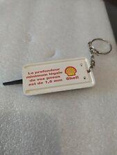 Ancien Porte Clé Shell Profondeur Des Pneus Auto Garage Vintage Keyring