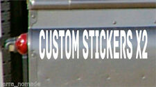 Custom Glossy Car Exterior Styling Decals