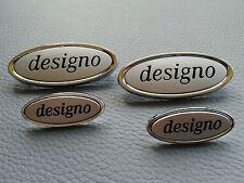 4 Mercedes-Benz AMG DESIGNO Embleme Plaketten für Sitze / Fußmatten type sign