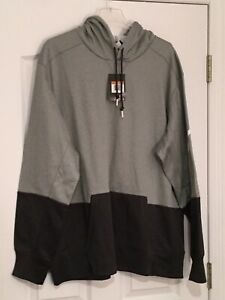 NIKE Therma-Fit Grey/Grey Sweatshirt. With Five White Stars On Back. XXL. NEW.