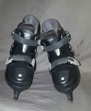 New listing Dbx Wind Beginner Boys Ice Skates, Adjusts 4 Sizes (Youth 12-1) With Pads