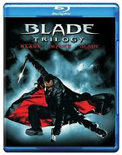 Blu Ray BLADE 1, 2 & 3 Trinity movies trilogy collection set. Region free. New