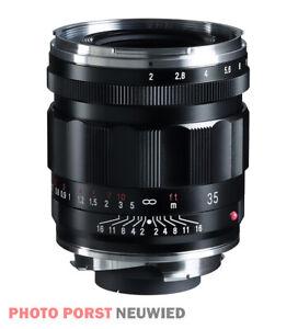 Voigtländer APO-Lanthar 1:2,0/35 mm asph. Leica VM * NEUHEIT vom Fachhändler *