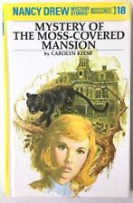 Mystery at the Moss-Covered Mansion Nancy Drew Mystery Stories No. 18 Hard Cover