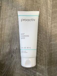 Proactiv Deep Cleansing Wash 3 Fl. Oz. 89 mL Salicylic Acid Acne Medication