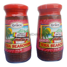 2 x Grace Jamaican Jerk Seasoning (Pack of 2)