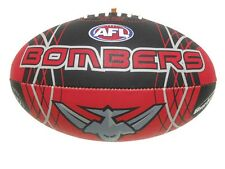 AFL ESSENDON BOMBERS FULL SIZE SYNTHETIC TEAM FOOTBALL - BRAND NEW