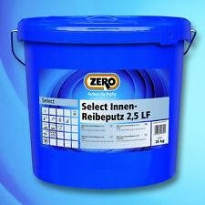 ZERO Select Innen-Reibeputz LF 25 kg-Dekorativer Kunstharzputz-625209010