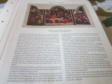 Köln Archiv 3 Kunst 3021a Tryptichon St. Severin Bartel Bruyn