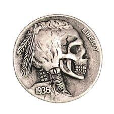 Hobo Skull 1914 US Cent Novelty Coin ** $5.00 SALE **