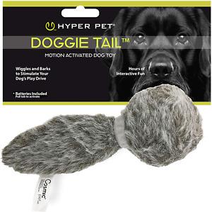 Hyper Pet Doggie Tail Interactive Plush Dog Toys (Wiggles, Vibrates  Barks – Do