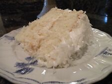 Old Fashion Coconut Cake Secret Heirloom Recipe!